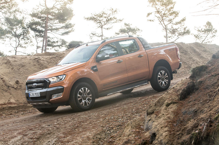 4 star Ford Ranger Wildtrak