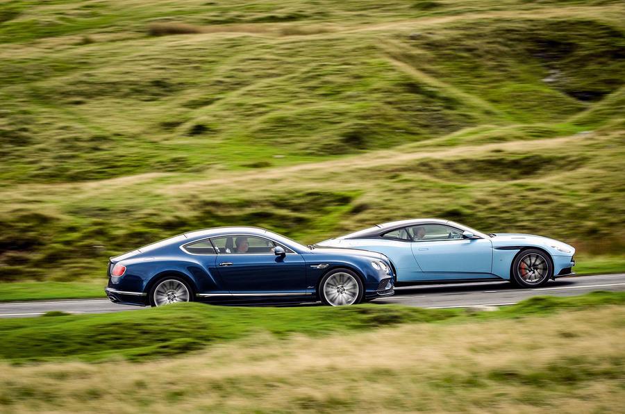 Aston Martin Db11 Vs Bentley Continental Gt Speed Grand Tourers
