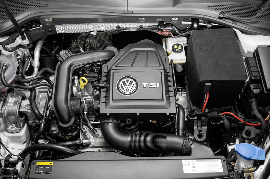 1.0-litre Volkswagen Golf Bluemotion engine
