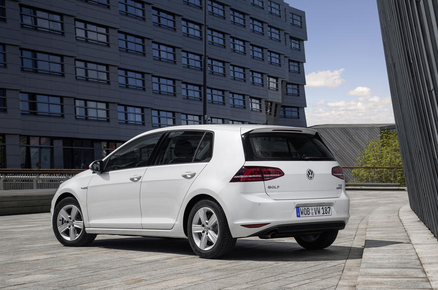Volkswagen Golf Bluemotion rear