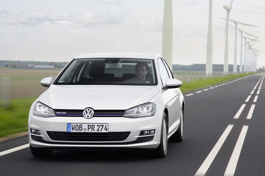 £20,395 Volkswagen Golf Bluemotion TSI