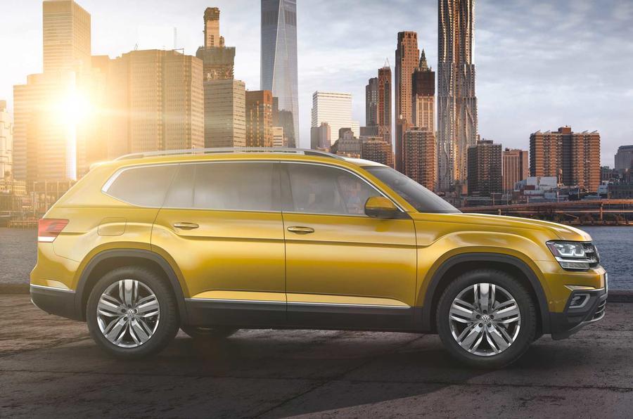 2017 Volkswagen Atlas revealed for US market | Autocar
