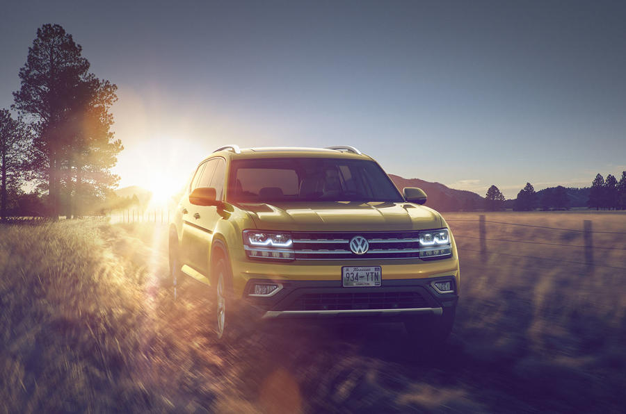 2017 Volkswagen Atlas revealed for US market