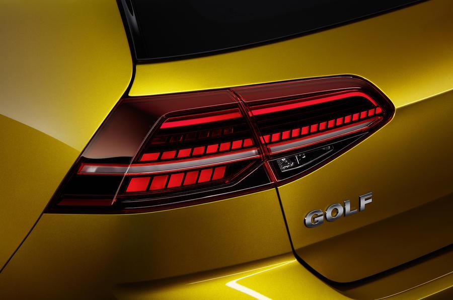 2017 Volkswagen Golf facelift revealed