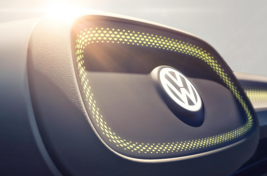 Volkswagen space concept previews second EV model