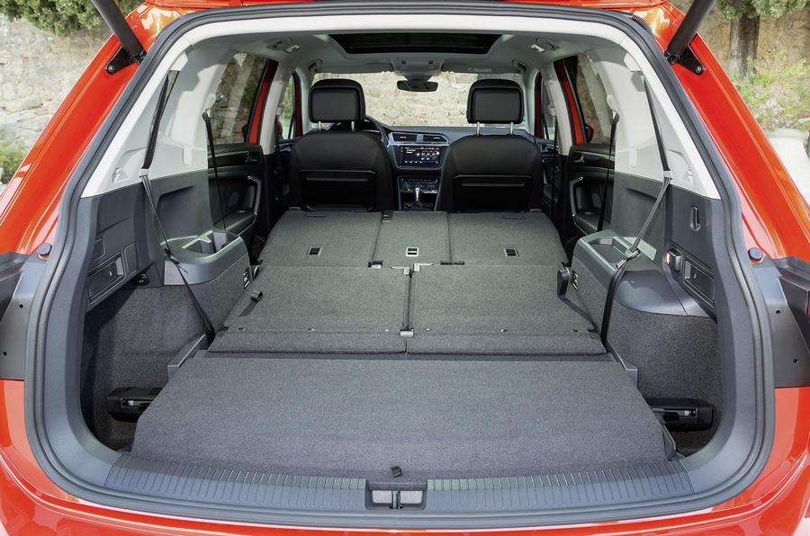 Volkswagen Tiguan Allspace boot space