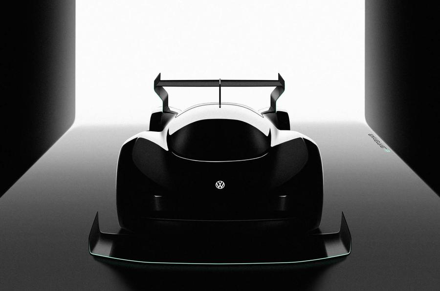 VW teases EV racer for next year's Pikes Peak International Hill Climb