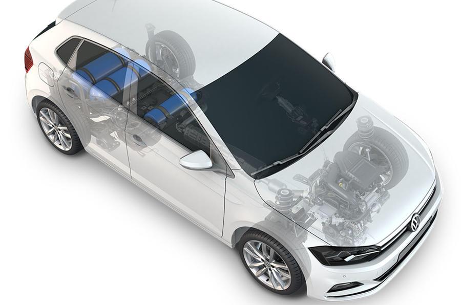 Volkswagen Polo gas conversion