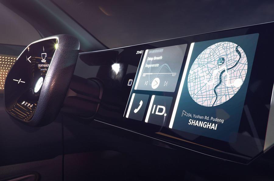 2019 Volkswagen ID Roomzz concept