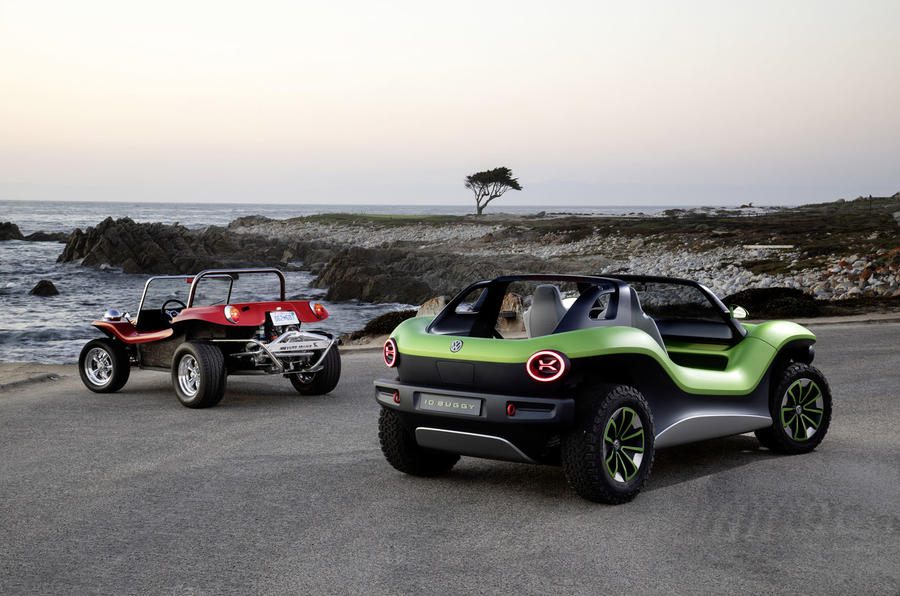 Volkswagen ID Buggy makes off-road debut at Pebble Beach