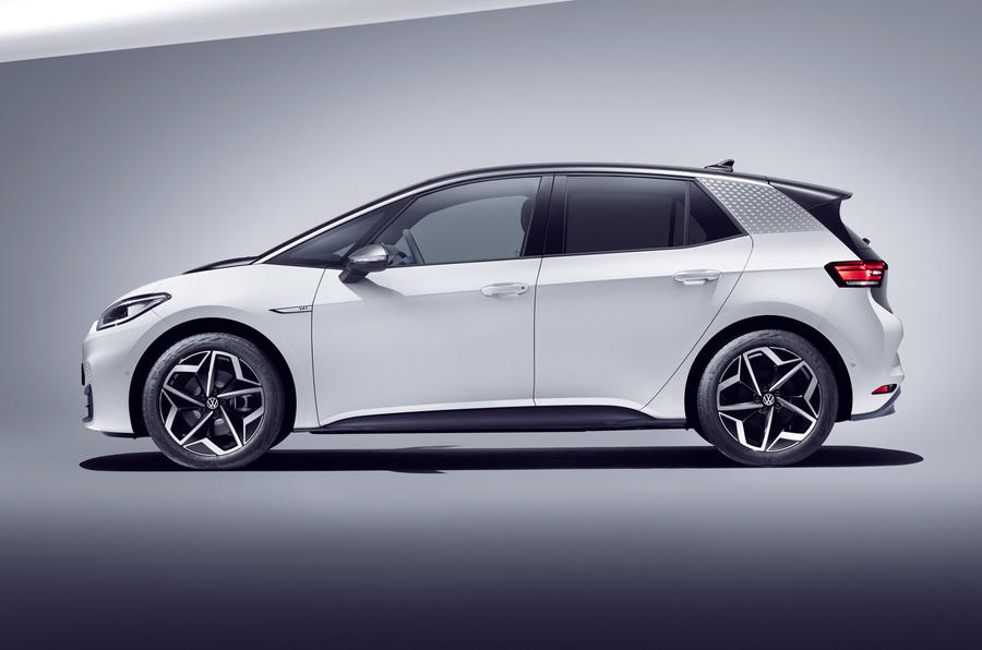 2020 Volkswagen ID 3 reveal - static side