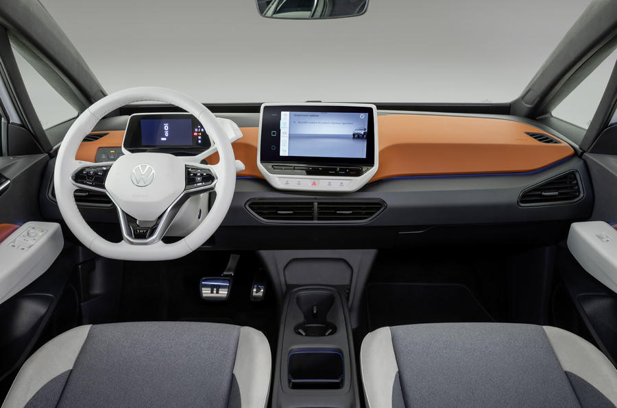 2020 Volkswagen ID 3 reveal - dashboard