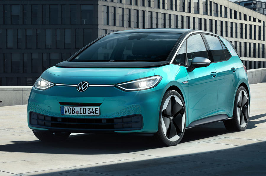 2020 Volkswagen ID 3 reveal - static front