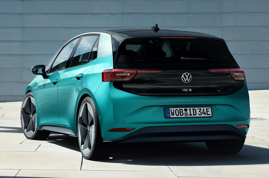 2020 Volkswagen ID 3 reveal - static rear