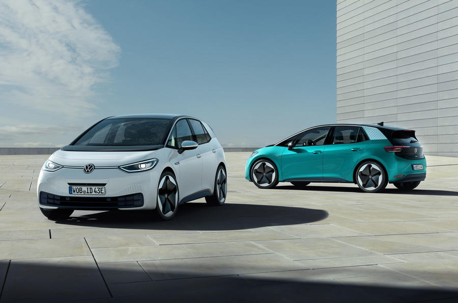 2020 Volkswagen ID 3 reveal - pair