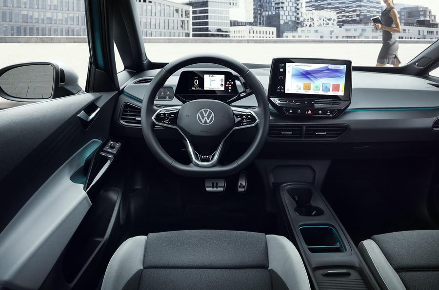 2020 Volkswagen ID 3 reveal - steering wheel
