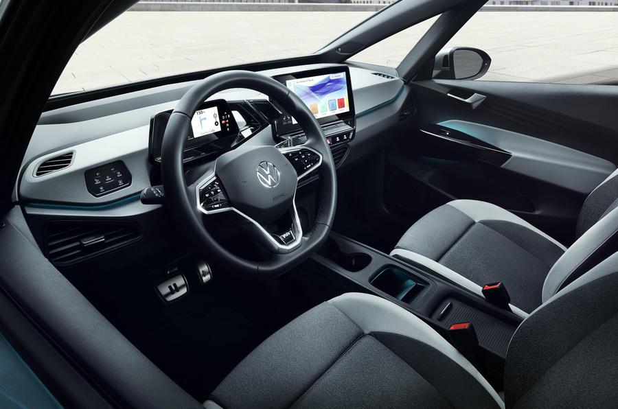 2020 Volkswagen ID 3 reveal - interior