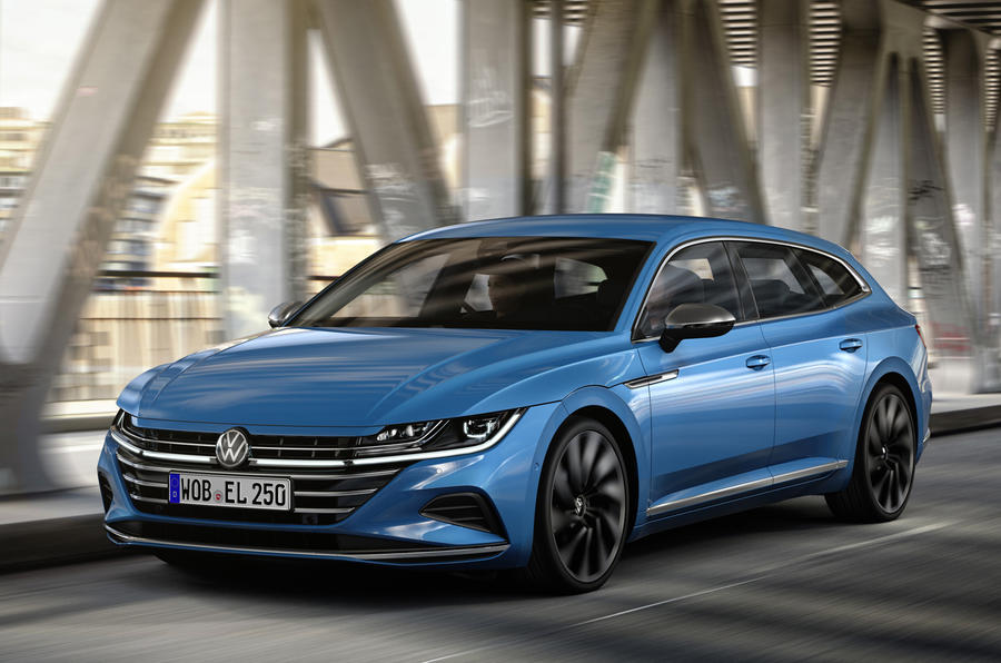 2020 Volkswagen Arteon Shooting Brake - front