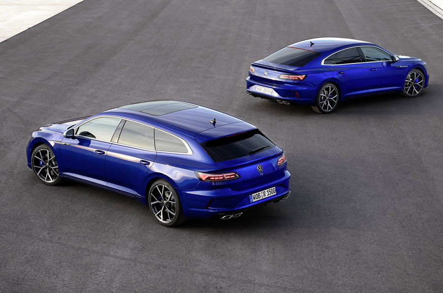 2020 Volkswagen Arteon R and Shooting Brake R