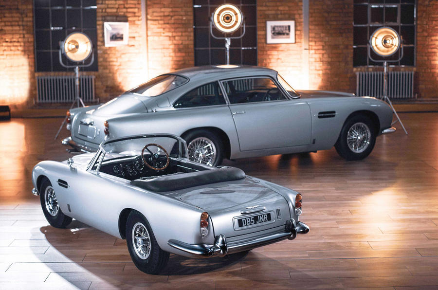 New Aston Martin DB5 Junior brings classic model on a smaller scale