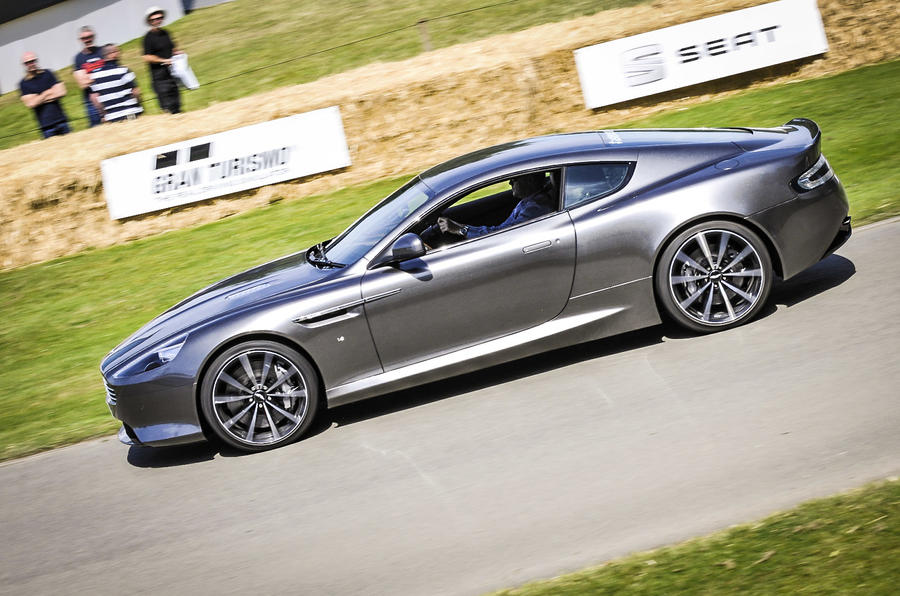 2015 Aston Martin Db9 Gt On Show At Goodwood Festival Of Speed Autocar