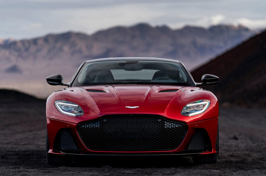 Aston Martin DBS Superleggera Revealed As Ferrari - Aston martin db8 price