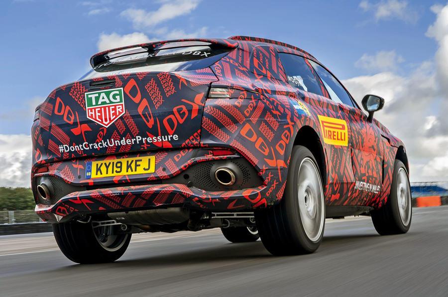 Aston Martin Dbx Suv Gets 542bhp V8 Autocar