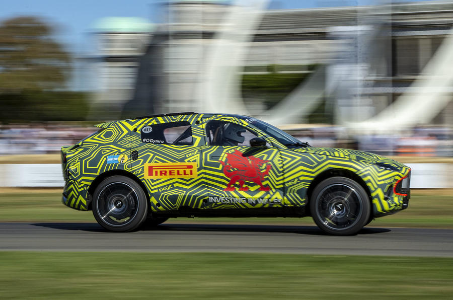 Aston Martin DBX at Goodwood Festival of Speed