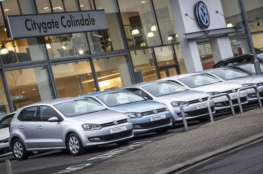 Volkswagen Group sel trade in incentives considered for