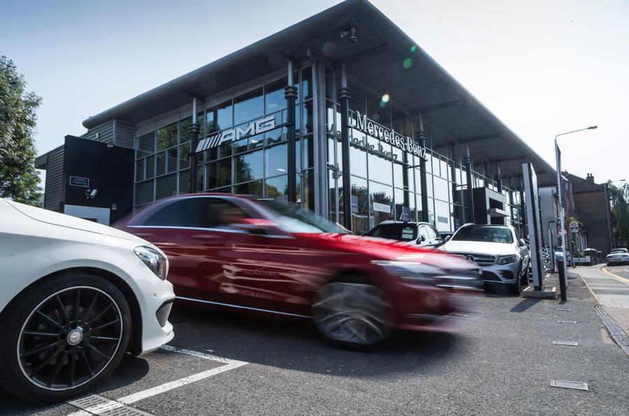 Mercedes-Benz UK dealership