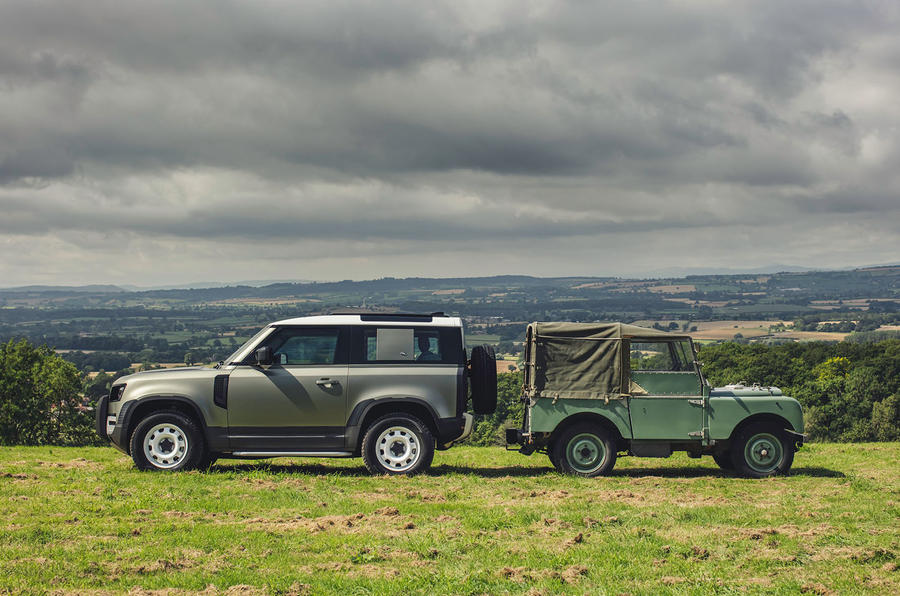 2020 Land Rover Defender reveal - old with new