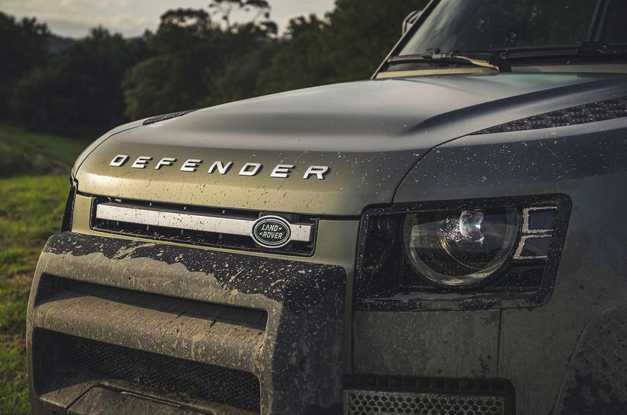 2020 Land Rover Defender reveal - front