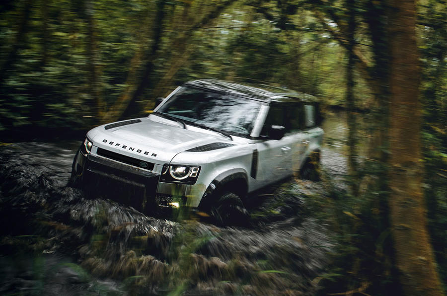 2020 Land Rover Defender reveal - wading front