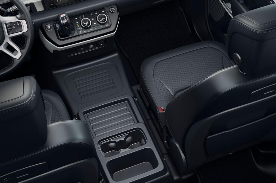 2020 Land Rover Defender reveal - buddy seat