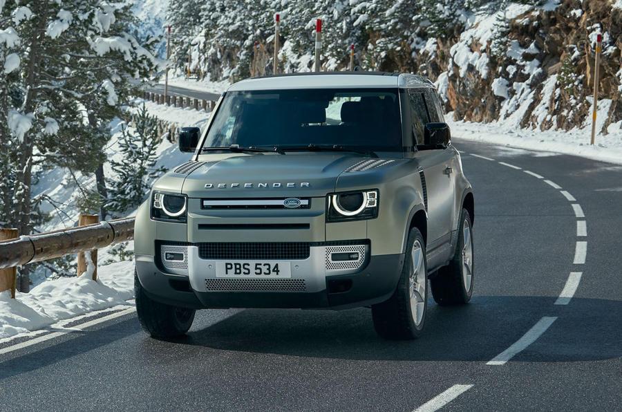 range rover defender 2019
