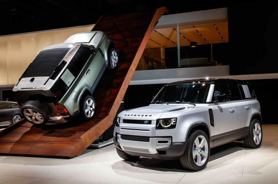 Land Rover Defender revealed at Frankfurt