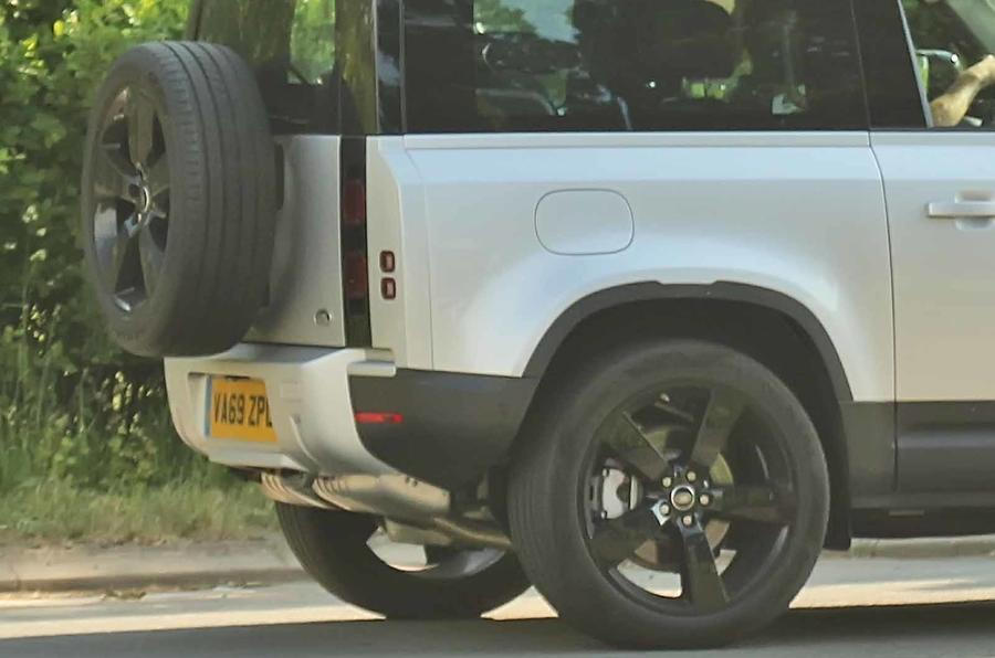New Land Rover Defender Six Cylinder Diesel Spotted