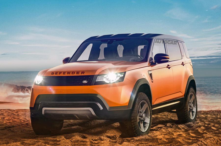 Vwvortex Com All New Land Rover Defender Family Debuting