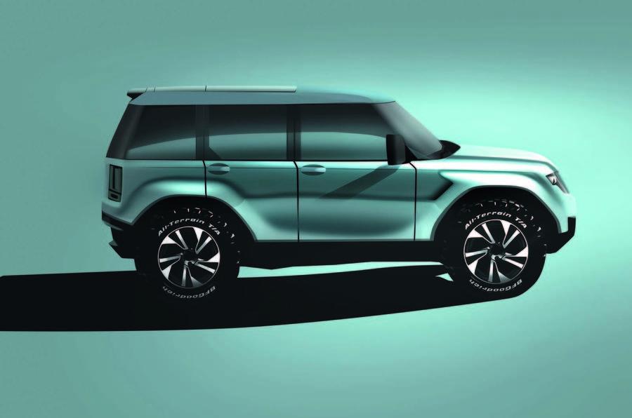 Land Rover Freelander revival render - side