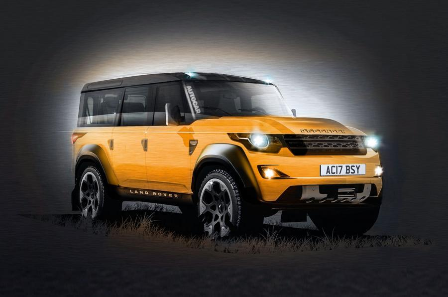 new land rover defender already testing on roads ahead of 2018 launch autocar. Black Bedroom Furniture Sets. Home Design Ideas
