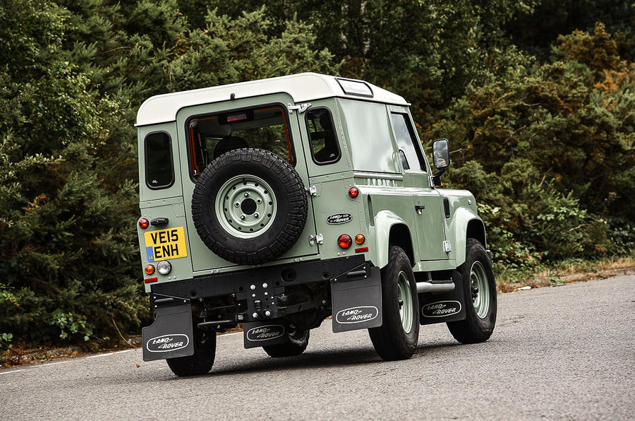 2015 Land Rover Defender 90 Heritage Uk Review Review