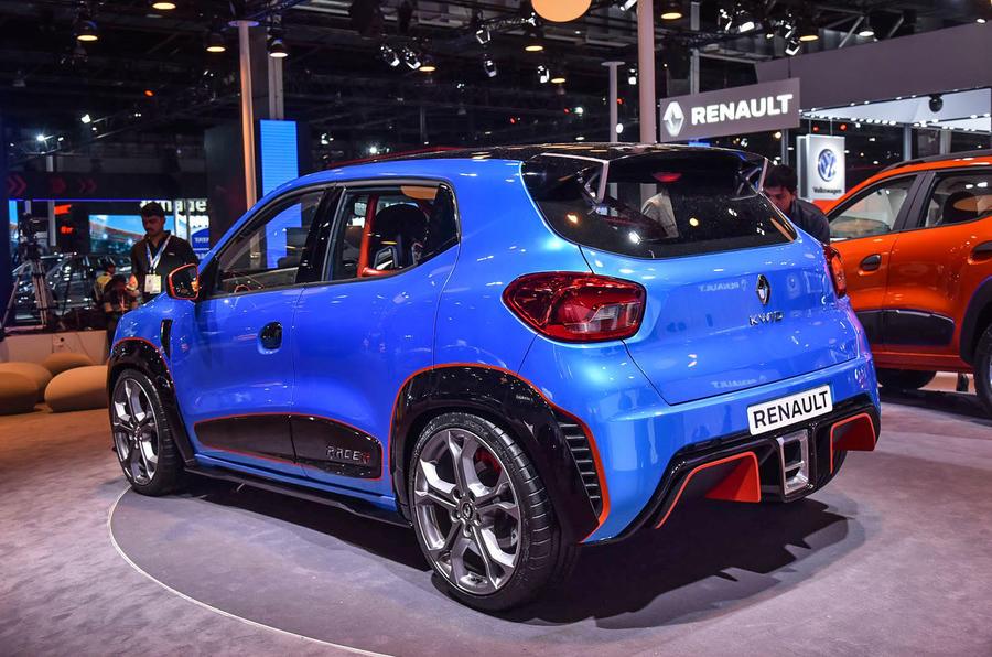Renault Kwid Racer Delhi Auto Expo 2016