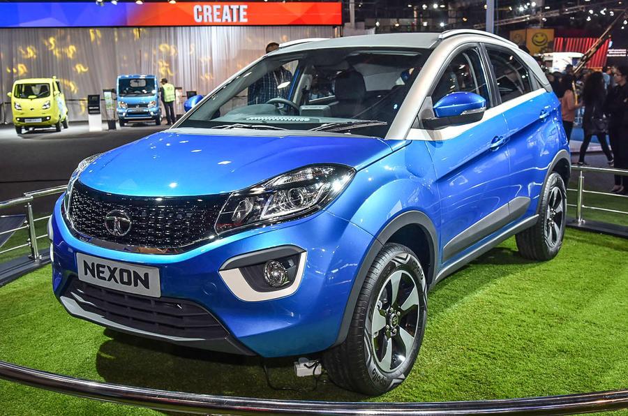 Tata Nexon Delhi Auto Expo 2016