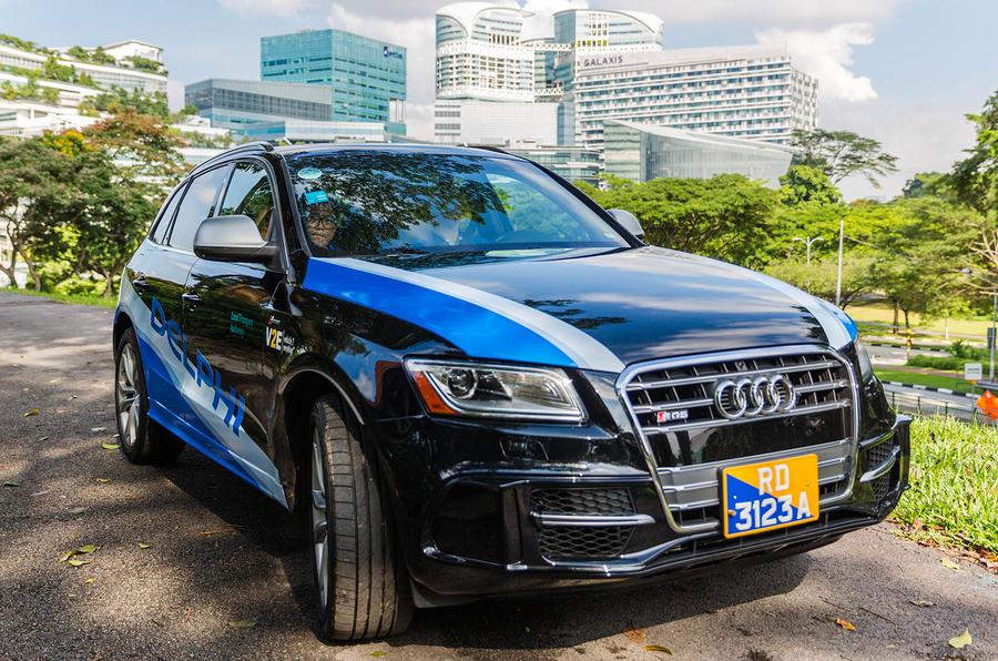Delphi Automotive automated taxi service