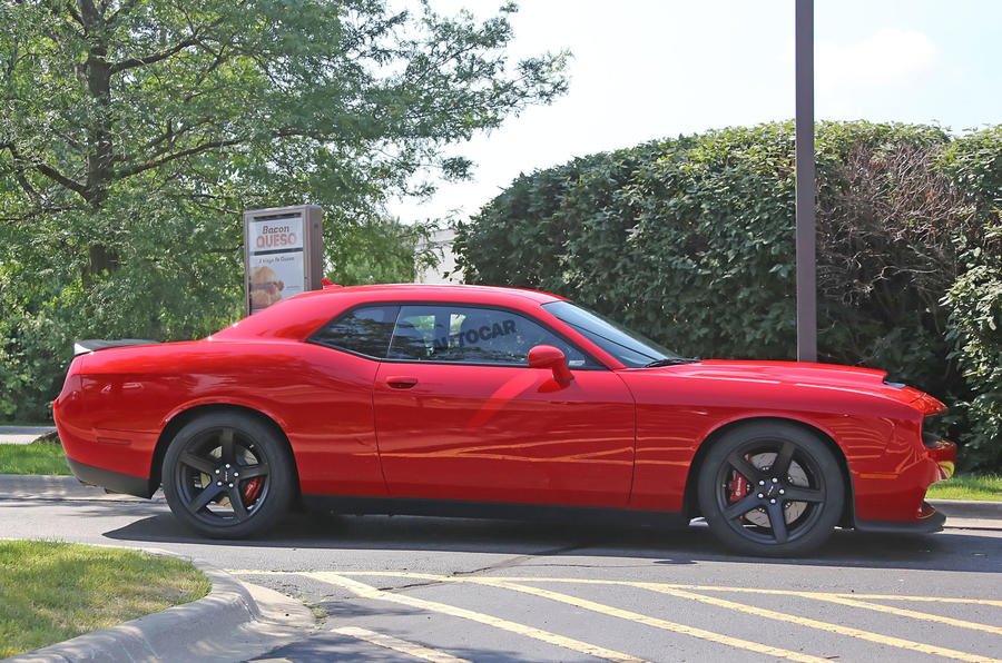 840bhp Dodge Challenger SRT Demon spotted in narrow-body spec
