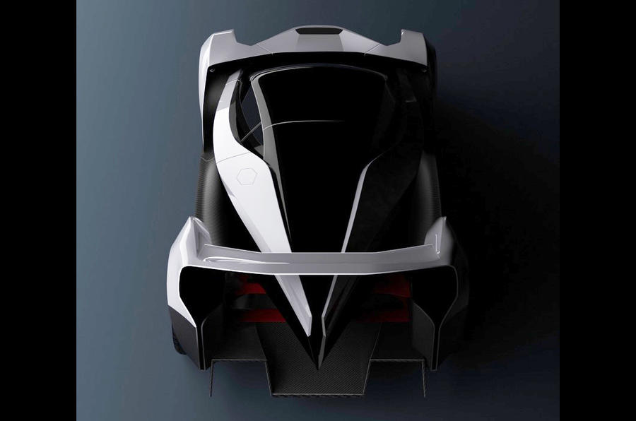 Dendrobium electric hypercar revealed with Williams F1 engineering