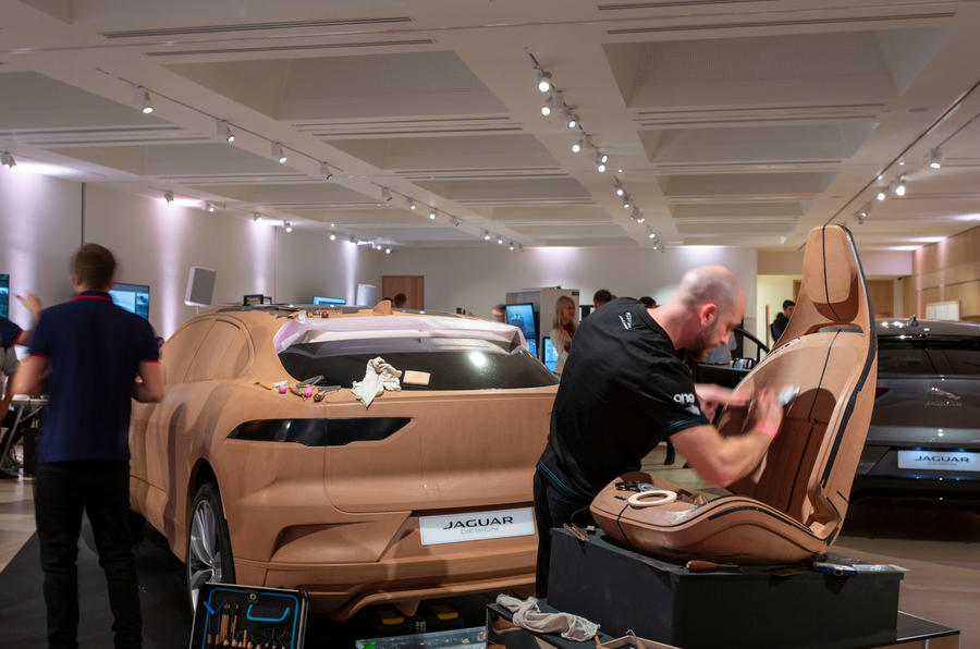Jaguar design museum lates - clay seat