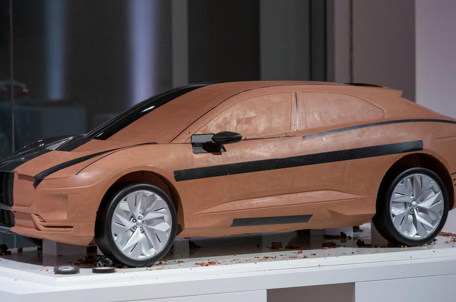 Jaguar design museum lates - I-Pace model