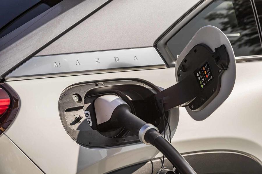 Mazda MX-30 charge point