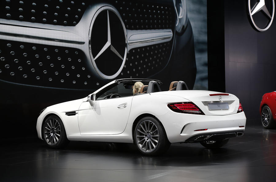 2016 mercedes benz slc prices and specs released autocar for Mercedes benz starting price